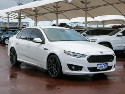 2016 Ford Falcon FG X XR6 Sprint White 6 Speed Auto Seq Sportshift Sedan Jandakot Cockburn Area Preview