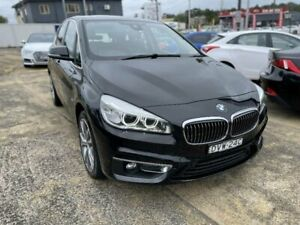2017 BMW 220i F22 MY17 Luxury Line Black 8 Speed Automatic Coupe Five Dock Canada Bay Area Preview