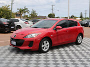 2012 Mazda 3 BL10F2 MY13 Neo Activematic Red 5 Speed Sports Automatic Hatchback Alfred Cove Melville Area Preview