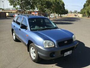 2001 Hyundai Santa Fe GL (4x4) 5 Speed Manual Wagon Clarence Gardens Mitcham Area Preview