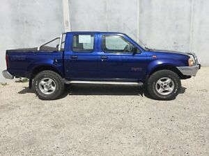 2004 Nissan Navara D22 ST-R (4x4) Blue 5 Speed Manual Dual Cab Pick-up Seaford Frankston Area Preview