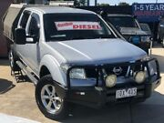 2010 Nissan Navara D40 ST-X (4x4) Silver 6 Speed Manual Dual Cab Pick-up Werribee Wyndham Area Preview