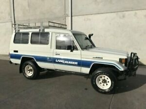 1988 Toyota Landcruiser HJ75RV 6 Seat White Manual Hardtop Bells Creek Caloundra Area Preview