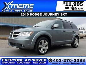 2010 Dodge Journey SXT $99 bi-weekly APPLY NOW DRIVE NOW