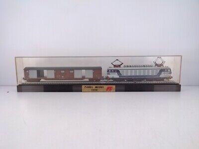 44278 Modellino treno Lima e633 Tigre e carro chiuso a carrelli