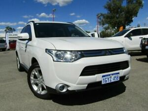2014 Mitsubishi Outlander ZJ MY14.5 LS 4WD White 6 Speed Sports Automatic Wagon Bellevue Swan Area Preview