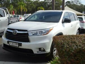 2014 Toyota Kluger GSU55R Grande (4x4) White 6 Speed Automatic Wagon South Nowra Nowra-Bomaderry Preview