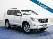 2013 Toyota Landcruiser Prado KDJ150R MY14 GXL (4x4) White 5 Speed Sequential Auto Wagon Jandakot Cockburn Area Preview