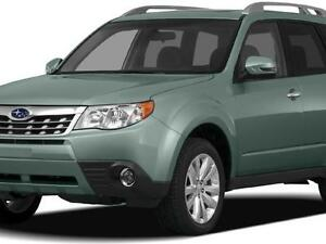 2012 Subaru Forester for only $60 per week!