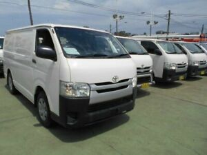 2014 Toyota HiAce KDH201R MY14 LWB White 4 Speed Automatic Van Five Dock Canada Bay Area Preview