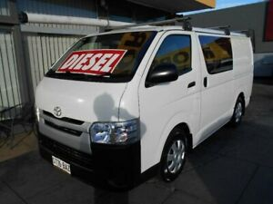 2014 Toyota HiAce KDH201R MY14 LWB White 5 Speed Manual Van West Hindmarsh Charles Sturt Area Preview