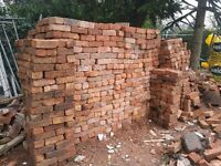 Used/reclaimed Bricks - 2500 bricks