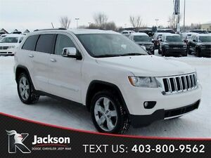 2011 Jeep Grand Cherokee Overland w/NAV, Leather, & more!