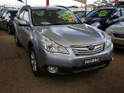 2011 Subaru Outback B5A MY11 2.5i AWD Silver 6 Speed Manual Wagon Minchinbury Blacktown Area Preview