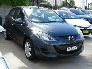 2011 Mazda 2 DE MY12 Neo Grey 5 Speed Manual Hatchback Ulladulla Shoalhaven Area Preview