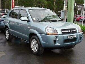 2009 Hyundai Tucson 08 Upgrade City SX Blue 4 Speed Automatic Wagon South Nowra Nowra-Bomaderry Preview