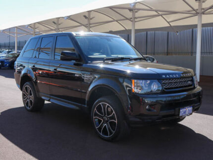 2013 Land Rover Range Rover LW Sport 3.0 SDV6 HSE Black 8 Speed Automatic Wagon Morley Bayswater Area Preview