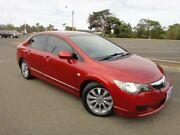 2010 Honda Civic MY10 VTi-L Maroon 5 Speed Automatic Sedan Mordialloc Kingston Area Preview