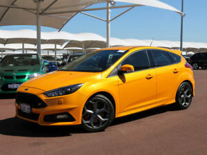 2016 Ford Focus LZ ST2 Yellow 6 Speed Manual Hatchback