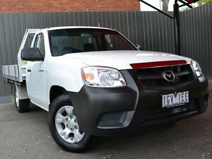 2010 Mazda BT-50 UNY0W4 DX White 5 Speed Manual Cab Chassis Fawkner Moreland Area Preview