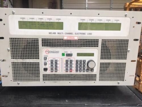 TDI DYNALOAD MCL 488 MULTI-CHANNEL ELECTRONIC LOAD  w/ 4 Mods  -  FREE SHIPPING