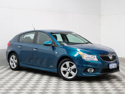 2012 Holden Cruze JH MY12 SRi V Regal Peacock Green 6 Speed Automatic Hatchback