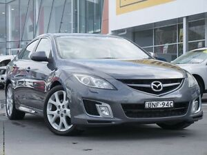 2009 Mazda 6 GH1021 MY09 Luxury Sports Grey 6 Speed Manual Hatchback Pearce Woden Valley Preview