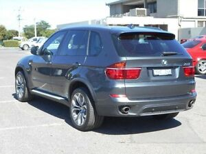 2011 BMW X5 E70 MY10 xDrive 40D Sport Grey 8 Speed Automatic Sequential Wagon Maidstone Maribyrnong Area Preview