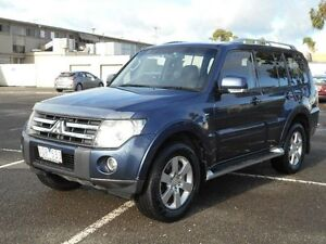 2007 Mitsubishi Pajero NS VR-X LWB (4x4) Blue 5 Speed Auto Sports Mode Wagon Maidstone Maribyrnong Area Preview