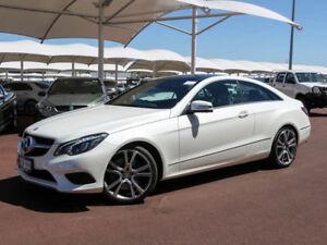2014 Mercedes-Benz E400 207 MY14 Diamond White Bright 7 Speed Automatic Coupe