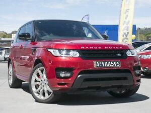2014 Land Rover Range Rover Sport L494 MY14.5 V8SC CommandShift Autobiography Dynamic Firenze Red Pearce Woden Valley Preview
