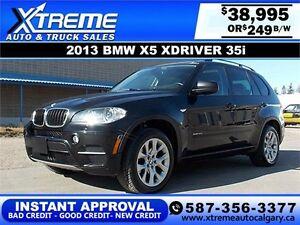 2013 BMW X5 xDrive 35i 7-Seat $249 bi-weekly APPLY NOW DRIVE NOW