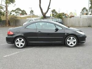 2007 Peugeot 307 MY06 Upgrade CC Dynamic Black 4 Speed Tiptronic Cabriolet Maidstone Maribyrnong Area Preview