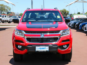 2017 Holden Colorado RG MY17 Z71 (4x4) Absolute Red 6 Speed Automatic Crew Cab Pickup