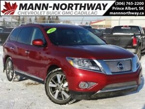 2015 Nissan Pathfinder Platinum | Navigation, Leather, Remote St