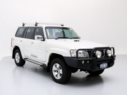 2011 Nissan Patrol GU VII ST (4x4) White 5 Speed Manual Wagon Jandakot Cockburn Area Preview