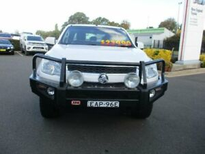 2015 Holden Colorado RG MY15 LS Crew Cab White Manual Utility