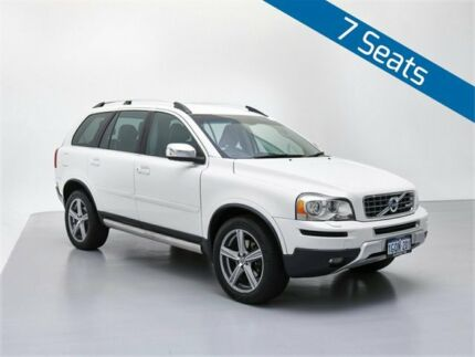 2010 Volvo XC90 MY11 V8 R-Design White 6 Speed Automatic Geartronic Wagon Jandakot Cockburn Area Preview