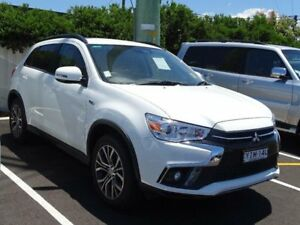 2018 Mitsubishi ASX XC MY18 LS (2WD) White Continuous Variable Wagon South Nowra Nowra-Bomaderry Preview