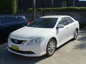 2016 Toyota Aurion GSV50R MY16 AT-X White 6 Speed Automatic Sedan Ulladulla Shoalhaven Area Preview