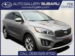 2017 Kia Sorento SX | AWD | 3.3 LITER V6 | COOLED SEATS | BLIND