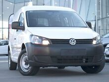 2013 Volkswagen Caddy 2KN MY13 TDI250 SWB DSG Candy White 7 Speed Sports Automatic Dual Clutch Van Pearce Woden Valley Preview