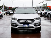 2018 Hyundai Santa Fe DM5 MY18 Highlander CRDi (4x4) Platinum Silver 6 Speed Automatic Wagon Jandakot Cockburn Area Preview