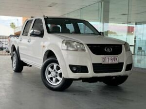 2011 Great Wall V200 K2 MY11 4x2 White 6 Speed Manual Utility Maryborough Fraser Coast Preview