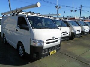 2015 Toyota HiAce KDH201R MY15 LWB White 5 Speed Manual Van Five Dock Canada Bay Area Preview