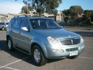 2005 Ssangyong Rexton Y200 RX270 XDI Limited Green 5 Speed Auto Steptronic Wagon Braybrook Maribyrnong Area Preview