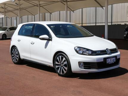 2011 Volkswagen Golf 1K MY12 GTD White 6 Speed Direct Shift Hatchback