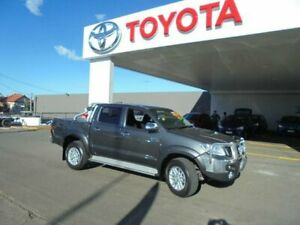 2015 Toyota Hilux KUN26R MY14 SR5 (4x4) Graphite 5 Speed Automatic Dual Cab Pick-up South Hurstville Kogarah Area Preview