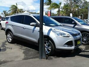 2015 Ford Kuga TF Trend (AWD) Silver 6 Speed Automatic Wagon