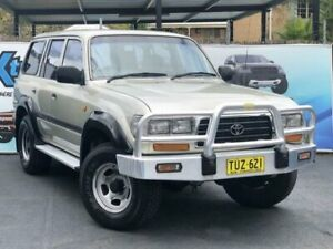 1995 Toyota Landcruiser FZJ80R GXL Champagne Automatic Wagon Campbelltown Campbelltown Area Preview